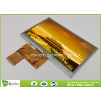 Customized 5.0 Inch 480x272 Replace AT050TN33 Industrial Resistive Touch LCD Display