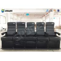 Buy cheap 4D Movie Theater Capacity 5 People Per Seat product