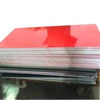 Buy cheap High quality laser engraving rubber abs plastic sheet 600x1200x1.5mm manufacturer for laser from wholesalers