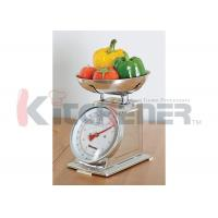 Buy cheap FDA Stainless Steel Digital Kitchen Scale With Round Tray 20 Kgs * 50 Gram product