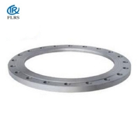 China Plate type, Carbon Steel / Stainless Steel Plate Flange Forged steel Large size Pipe Flange ANSI/ASME/AWWA on sale