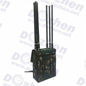 China Durable High Power VIP Protection Security Cell Phone Signal Backpack Jammer on sale