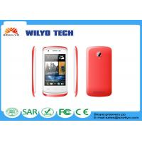 Buy cheap 320x480P Resolution Touch Screen Cell Phones Single Core Front 0.3M Back 0.3M Camera product