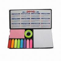 Buy cheap PU Memo Pads, Size of 227x105x28mm product