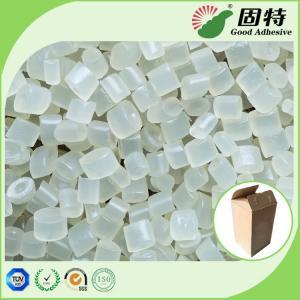 Buy cheap EVA resin Yellowish Granule solid  Hot Melt Adhesive Packaging , EVA Hot Melt Pellets for bonding of common corrugated c product