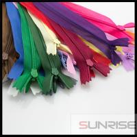 China high quality dress accessories 4# close end lace tape nylon zipper on sale