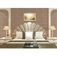 Quality Floral decoration contemporary bedroom wallpaper , Nonwoven modern wallpaper for for sale