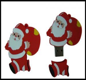 Buy cheap Подарок рождества!!! Привод вспышки усб Пвк Санта Клауса ОЭМ, флэш-память усб, диск усб, обломок усб product