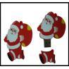 Buy cheap Christmas Gift!!! OEM Santa Claus Pvc usb flash drive, usb flash memory, usb from wholesalers
