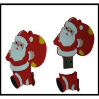Buy cheap Christmas Gift!!! OEM Santa Claus Pvc usb flash drive, usb flash memory, usb disk,usb chip from wholesalers