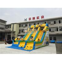Buy cheap Commercial And Residential Small Kids Inflatable Slide With 0.5mm Pvc Tarpaulin from wholesalers