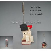 Buy cheap Resin Promotional Gift Card Holder from wholesalers