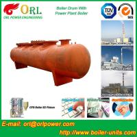 Buy cheap Alloy steel 50 ton boiler spare part mud drum for chemical industry ORL Power TUV product