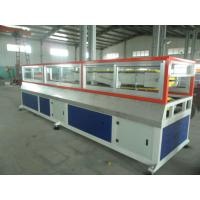 China Decorative Floor WPC Profile Production Line , 160kg/h - 280kg/h on sale
