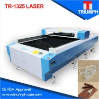 China Triumph CE FDA manufacture 1.3*2.5m 1325 Laser cutting machine for acrylic wood fabric non-metal on sale