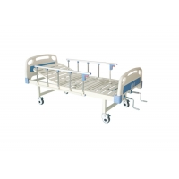 Buy cheap Manual Economic Mattress Base Board Manual Hospital 2 Positions Bed Price Cranks Hospital Bed product