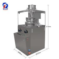 China Vitamin Pharmacy Effervescent Tablet Press Machine For Continuously Pressing Powder on sale