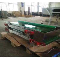 Buy cheap Small Green PVC Conveyor Belt System For Cosmetic Products Manufacturer product