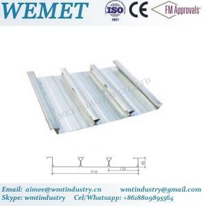 Buy cheap Steel floor deck for steel structure building WMT 65-170-510 product