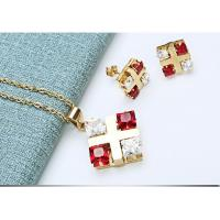 Buy cheap Clear Quartz Crystal Applique Crafts , Delicate Jewelry Necklace & Earrings product