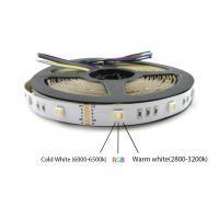 Buy cheap DC24V 60pcs LED 5 color in one LED 5050 SMD RGBWW can replace 5050 RGB RGBW CCT LED strip light product
