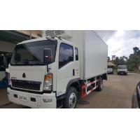 Buy cheap 2017s SINO TRUK HOWO 4*2 RHD 3-5tons refrigerated truck for sale, HOT SALE! bottom price HOWO 5tons cold room truck product