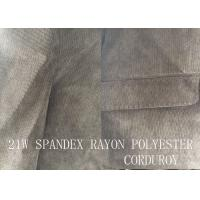 Quality 21W  SPANDEX RAYON POLYESTER CORDUROY FOR GARMENT for sale