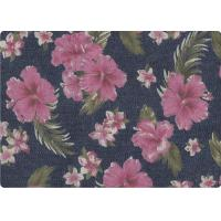 Buy cheap Wonderful Flower Printed 100 Cotton Denim Fabric Luxury Outdoor Fabric product