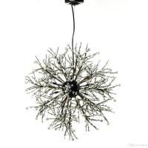 Buy cheap Modern Dandelion Crystal Pendant Lighting , Firework LED Vintage Modern Single from wholesalers