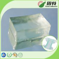 Buy cheap Pressure Sensitive Hot Melt Adhesive Block , Light Transparent Hot Melt PSA product