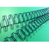 China Wear - Resisting Double Loop Wire O , 23 Loops Twin Loop Wire Binding wholesale