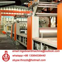 Buy cheap Fully Automatic Fire Resistant Mgo Slab / Magnesium Oxide Board Production Line product