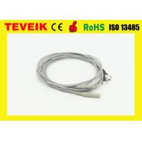 China Silver Plated Copper Gold Electrodes Eeg Cable For Eeg Machine wholesale