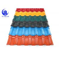 Construction Material ASA Plastic Sheet For Roof Customized With Pvc Synthetic Resin Roof Tile