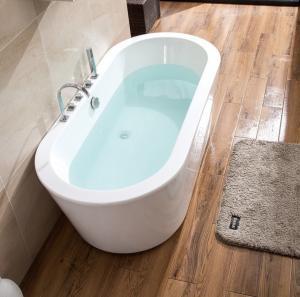 Buy cheap Model Design Ellipse Acrylic Freestanding Bathtub product
