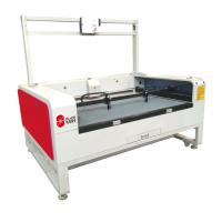 Flying Leather Cutting Machinery For Sublimation Textile