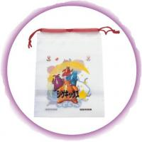 Buy cheap Promotional Candy / Cookies / Chocolate Drawstring Plastic Bags With Cartoon Printing product
