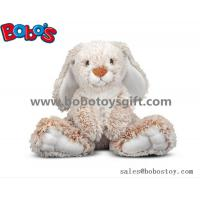 Buy cheap 25cm Baby Plush Sitting Rabbit Animal Toy with Long Ears and Big Feet product