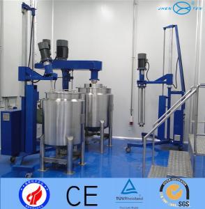 Beverage1500L Stainless Steel  Mixing Tank Emulsifer High Shear