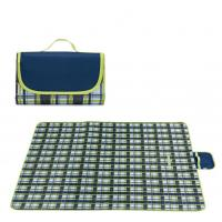 Buy cheap Outdoor Sand Resistant Beach Blanket , Collapsible Family Picnic Blanket product