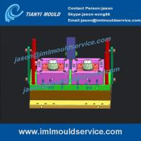 Buy cheap thin-walled round bucket mould supplier,thinwall injection mould plastic container designs product