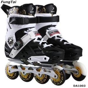 Buy cheap Men Women Roller Inline Skate Shoes Freestyle Street Slalon Patins Leisure Blade Shoes Popular White Color (DA1003) product
