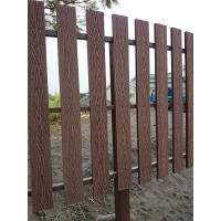 China Natural Wooden WPC Decking / 100 % recyclable WPC Rail Fence For Farm wholesale
