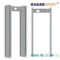 Buy cheap Portable Door Frame metal detector body scanner Airport access control LED Alarm product