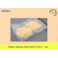 Buy cheap Transparent Vacuum Sealed Storage Bags for Frozen Food 500 g Weight Limit product