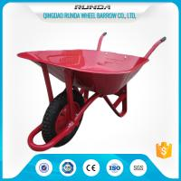 Buy cheap Steel Tray Heavy Duty Wheelbarrow , County Clipper Wheelbarrow 65L Water Capacity product