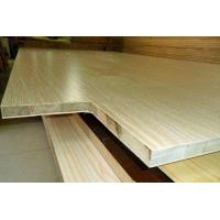 Buy cheap E1 E2 Melamine Paper Faced Laminated Block Board For Packaging Flooring 18mm product