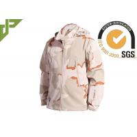 Buy cheap 3 Color Desert Men Tactical Military Winter Fleece Hooded Outdoor Jacket For Camouflage product