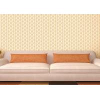 Buy cheap Transcend Comfortable Vinyl Damask Wallpaper Embossed Low - flammability product