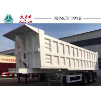 Buy cheap 65 Tons 3 Axles Heavy Duty Tipper Trailer Custom Dimension With BPW Brand Axle product
